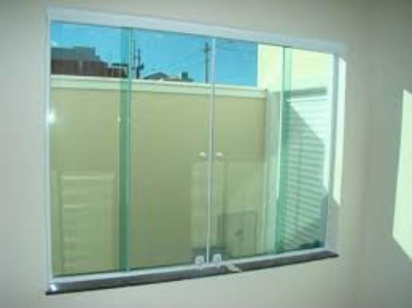 janela de vidro