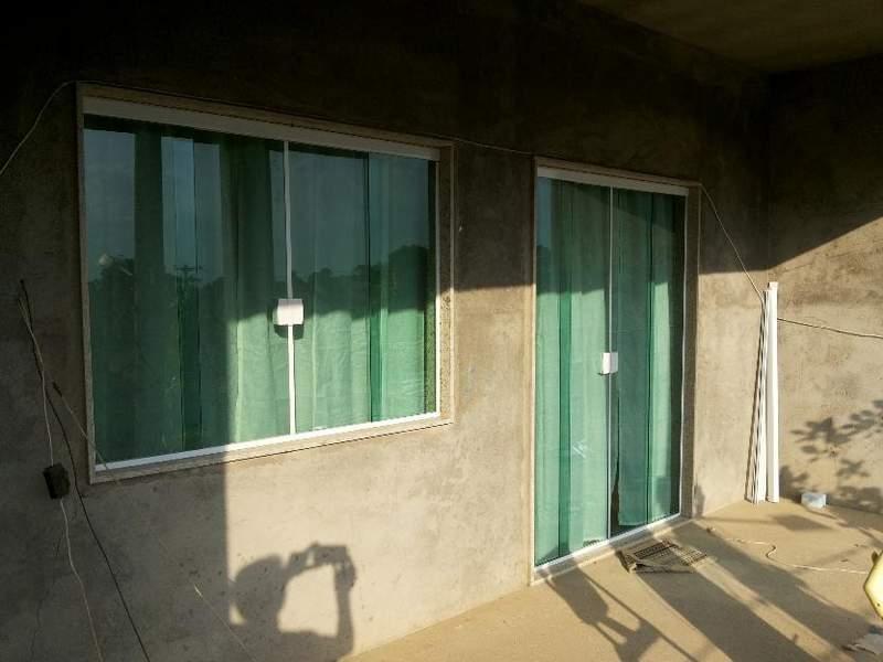 janelas e portas de vidro temperado