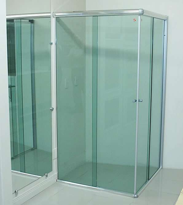 vidro para box
